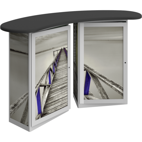 Linear Double Reception Counter