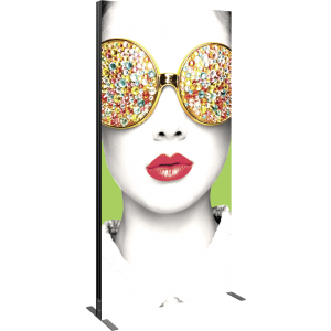 Vector Frame Light Box Rectangle 04 Fabric Banner Display